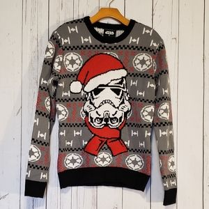 Star Wars Darth Vader Ugly Christmas Sweater Small